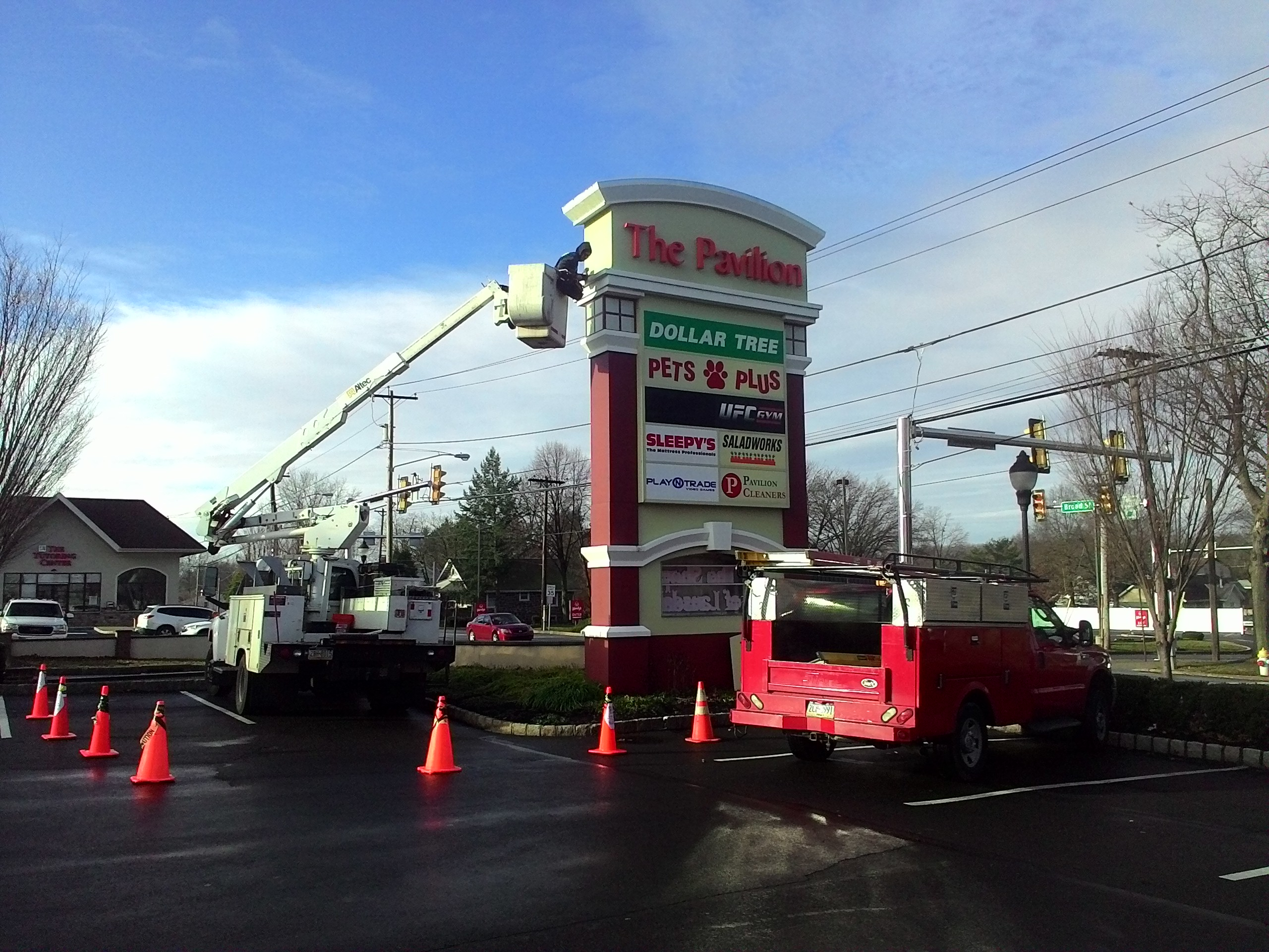 Pylon Signs By Able Group Inc Havertown Pa